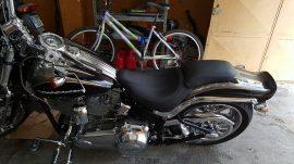 tapizado asiento moto