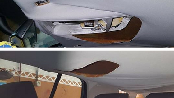 Tapizar techos de coche en las palmas de gran canaria - Tela para tapizar techo coche ...