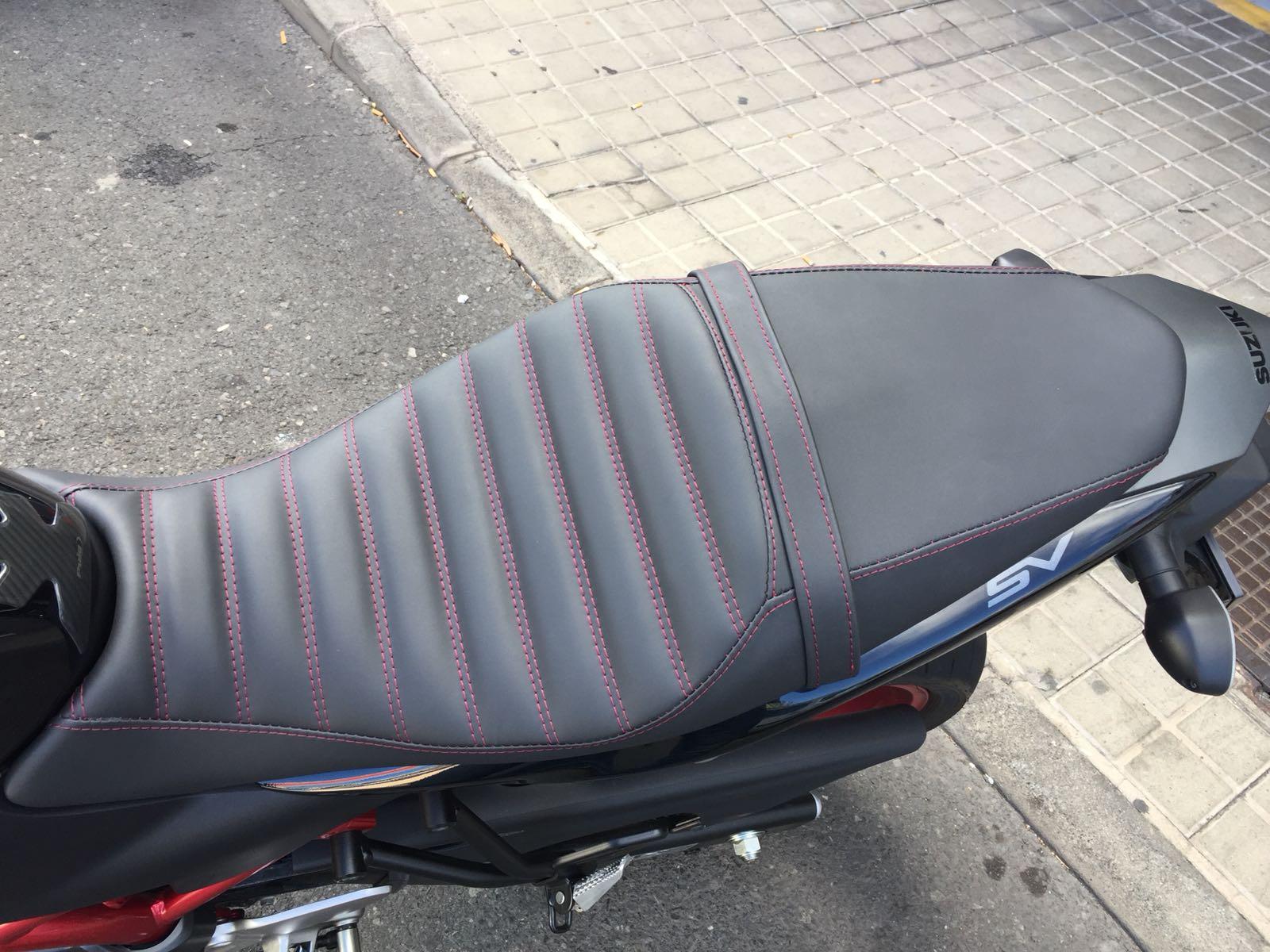 Tapicería de moto
